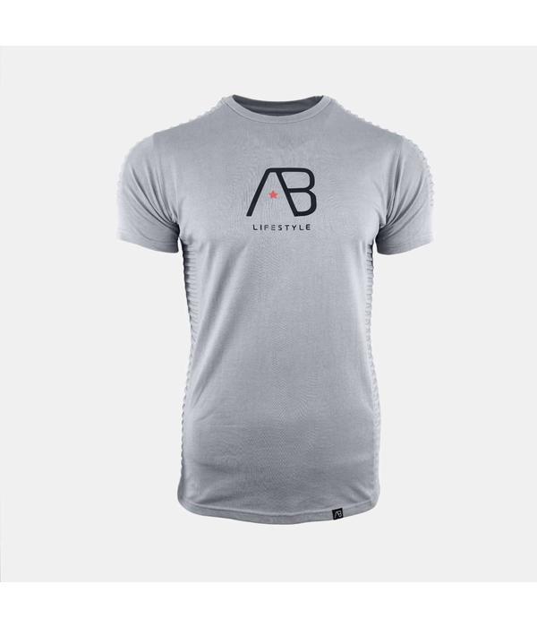AB-Lifestyle AB Tee The Ribb Iron Grey
