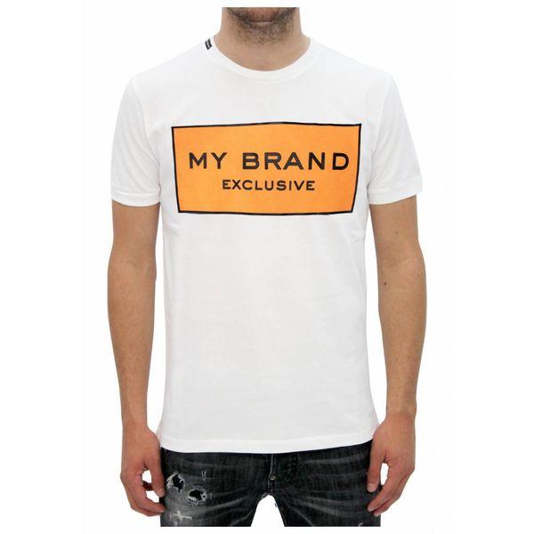 My Brand Logo Branding T-shirt Orange