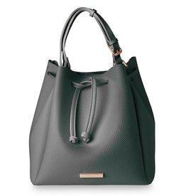 Katie Loxton Purse - Chloe Bucket Bag Charcoal
