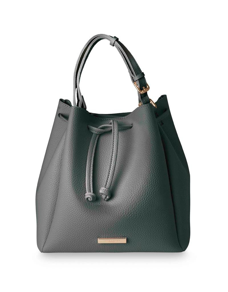 Katie Loxton Purse - Chloe Bucket Bag Charcoal