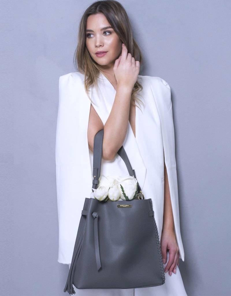 Katie Loxton Purse Florie Day Bag - Charcoal