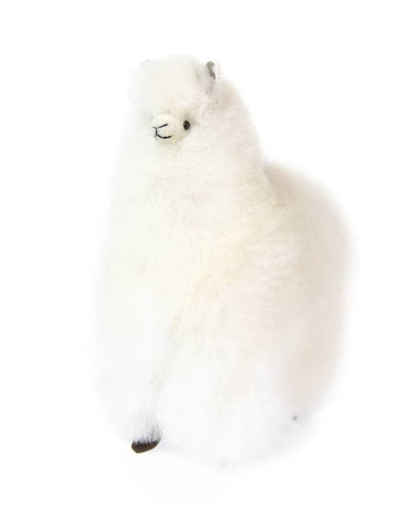 Inkari Alpaca Medium - White/Ivory