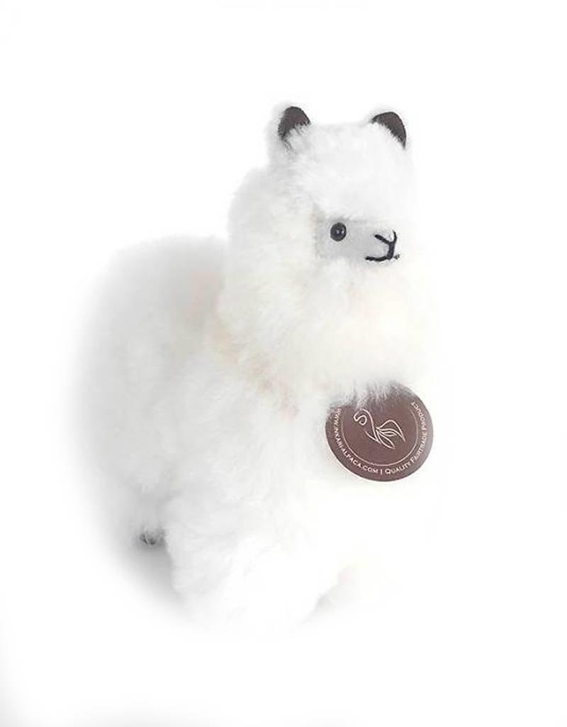 Inkari Alpaca Klein - Wit
