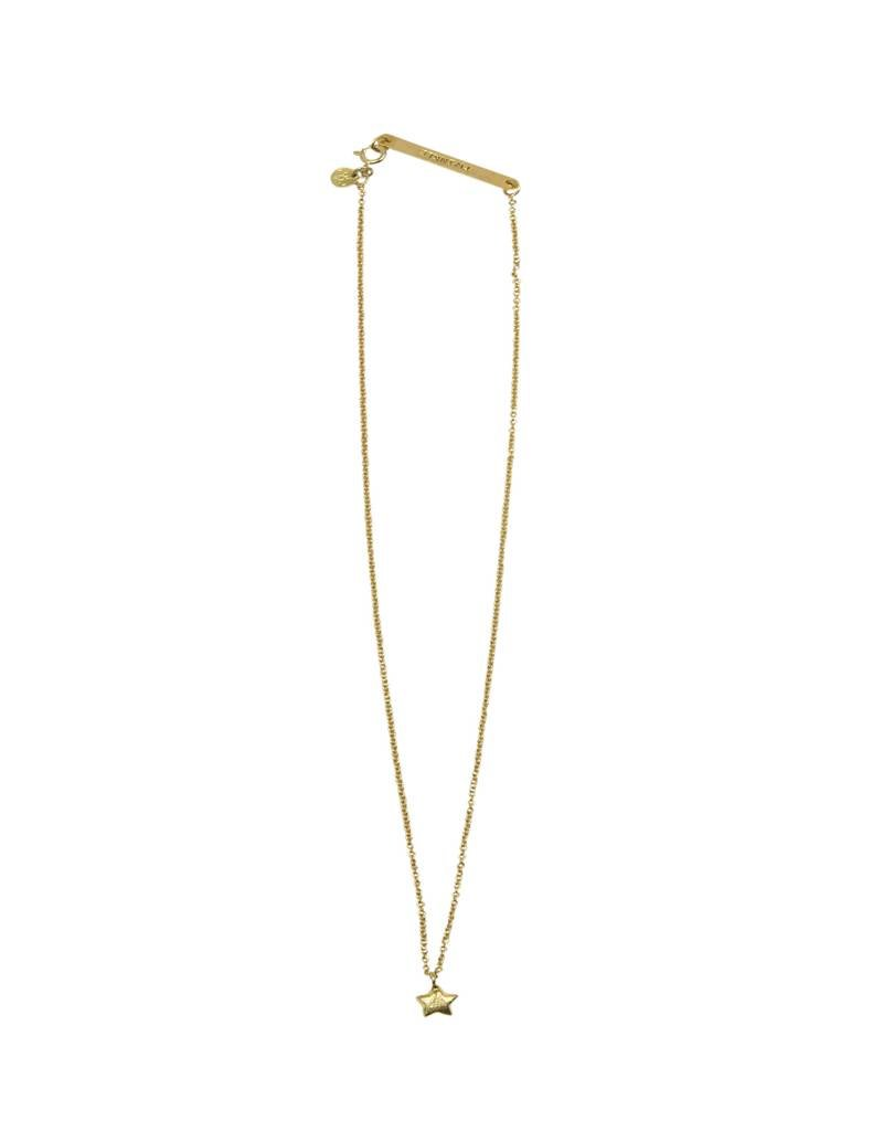 A Beautiful Story Flow Star Ketting - Goud