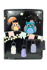 Shagwear Patio Owls - Black