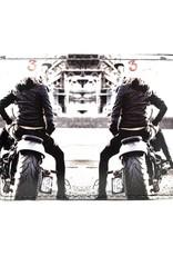 Shagwear Motor Girl - Black/White