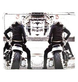 Shagwear Motor Girl - Zwart/Wit
