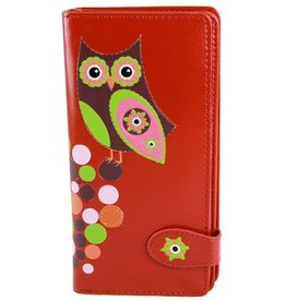 Shagwear Retro Owl - Red