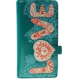Shagwear Vintage Love Pattern - Turquoise