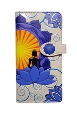 Shagwear Buddha Lotus - Beige/Purple