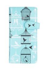 Shagwear Vintage Bird Cages - Light Blue