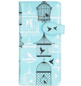 Shagwear Vintage Vogelkooien - Licht Blauw