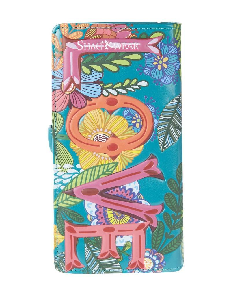 Shagwear Love Floral - Turquoise