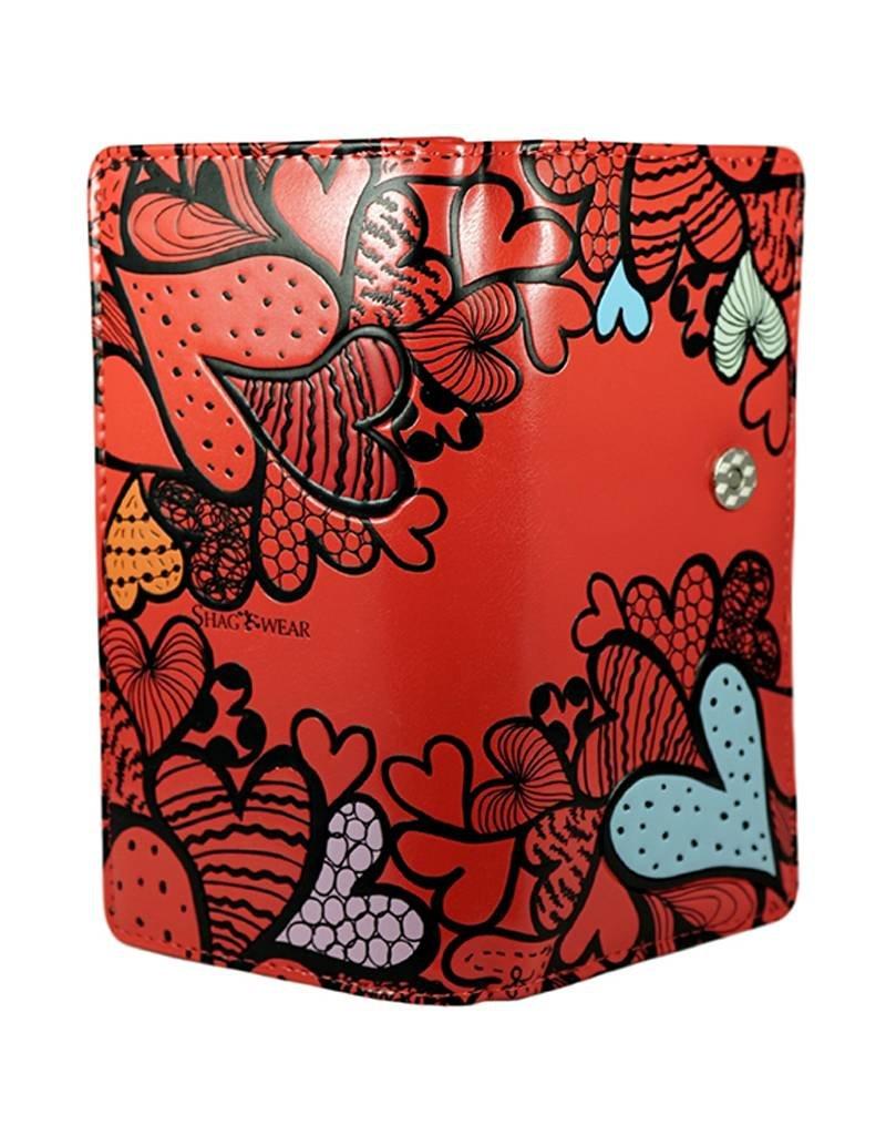 Shagwear Heart Pattern - Red