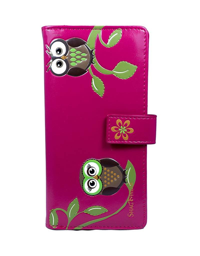 Shagwear Friendly Owls - Fuchsia