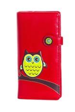 Shagwear Wise Owl - Red