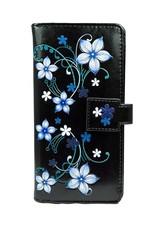 Shagwear Blue Blossoms - Black