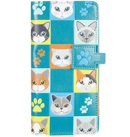 Shagwear Cat Checkers - Turquoise