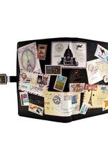 Shagwear Vintage Postcard Collage - Black
