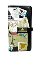 Shagwear Vintage Postkaarten Collage - Zwart