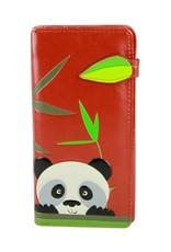 Shagwear Peeking Panda - Burgundy