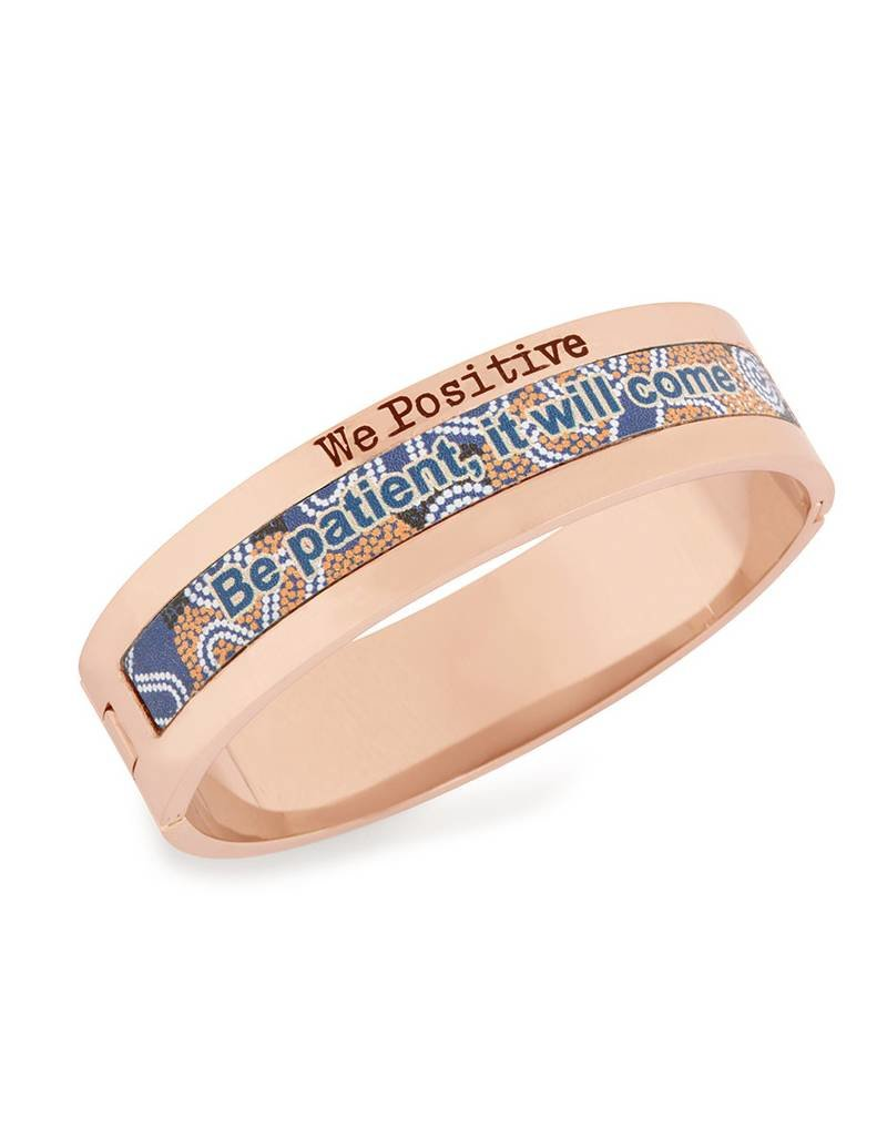 We Positive Bracelet Explorer Rose Gold - Be Patient