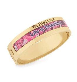 We Positive Bracelet Explorer Gold - Life