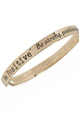 We Positive Armband Friends - Goud