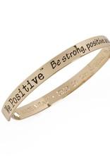 We Positive Bracelet Friends - Gold