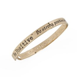 We Positive Bracelet Friends - Gold