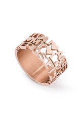 We Positive Ring Rose Gold - You Are My Love