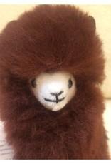 Inkari Alpaca Klein - Donker Bruin