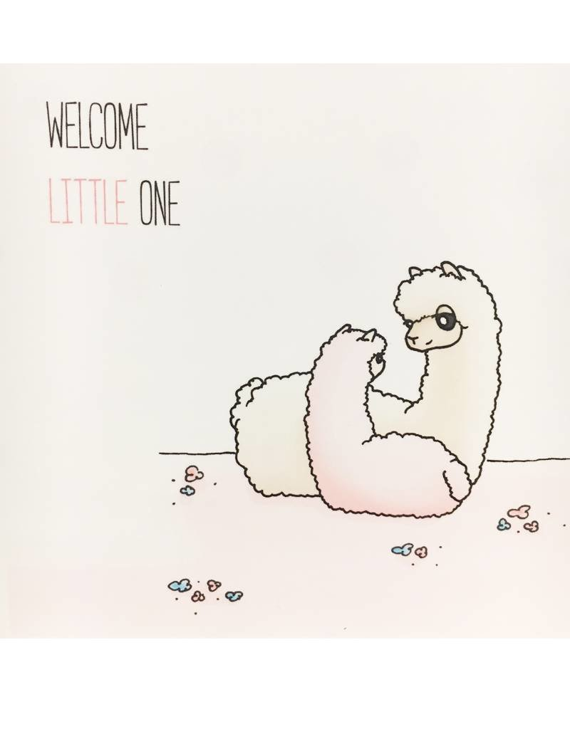 Inkari Welcome Little One - Light Pink