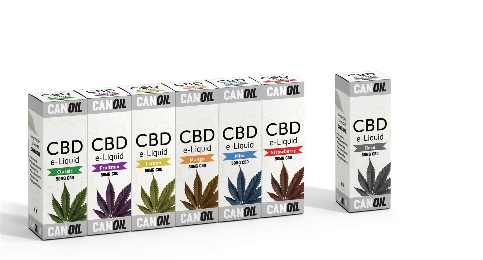 Canoil CBD E-liquids