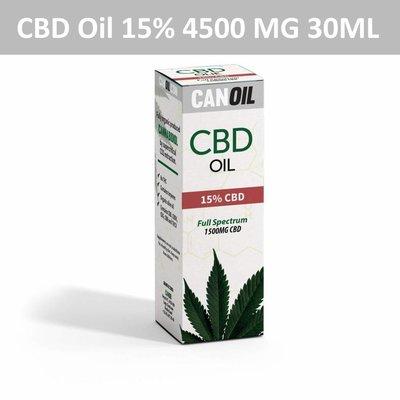 Canoil CBD Oil 15% (4500 MG) 30ML Full Spectrum CBD Hanfsamenöl