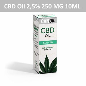 Canoil CBD Oil 2,5% (250 MG) 10ML Full Spectrum CBD