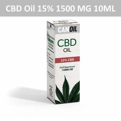 Canoil CBD Oil 15% (1500 MG) 10ML Full Spectrum CBD Hanfsamenöl