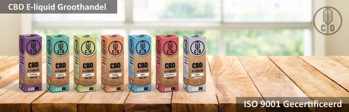 CBD Groothandel in CBD E-liquids