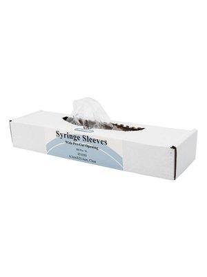 Syringe Sleeves  6,3 cm. x 25,4 cm.