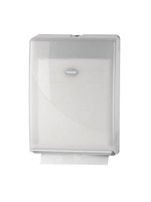 Handdoekdispenser interfold wit