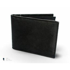 Tresanti zwart glad lederen portemonnee