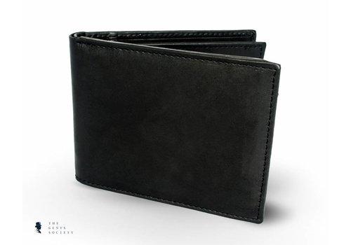 Tresanti zwart lederen portemonnee