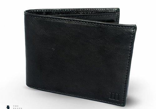 Tresanti zwarte klassieke portemonnee