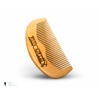 BRDS Grooming natuurlijke baardborstel met wildzwijnenhaar en een handvat