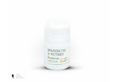 Bath House luxe natuurlijke deodorant Spanish Fig & Nutmeg
