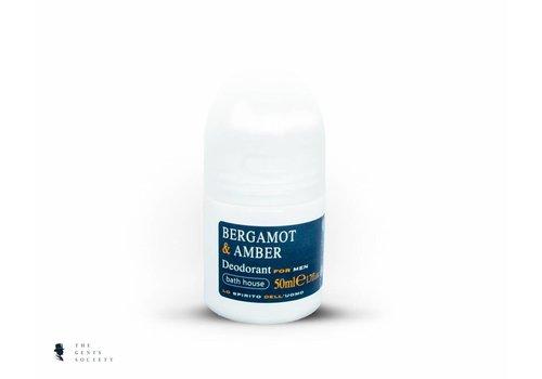 Bath House deodorant Bergamot & Amber