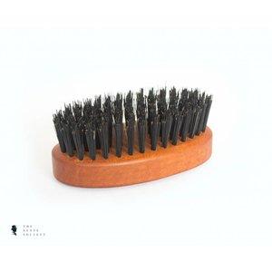 BRDS Grooming medium natuurlijke baardborstel met wildzwijnenhaar