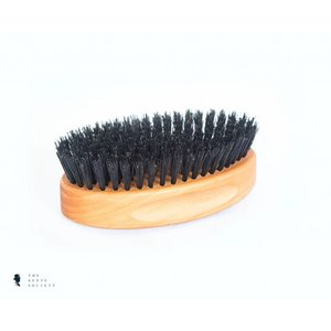 BRDS Grooming natuurlijke baardborstel Military Brush