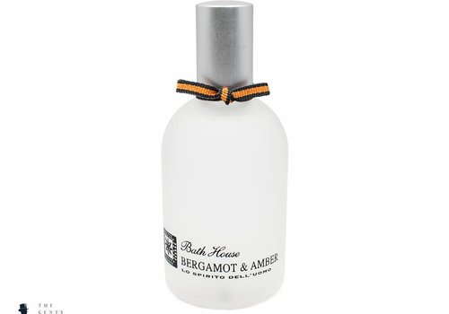 Bath House cologne Bergamot & Amber