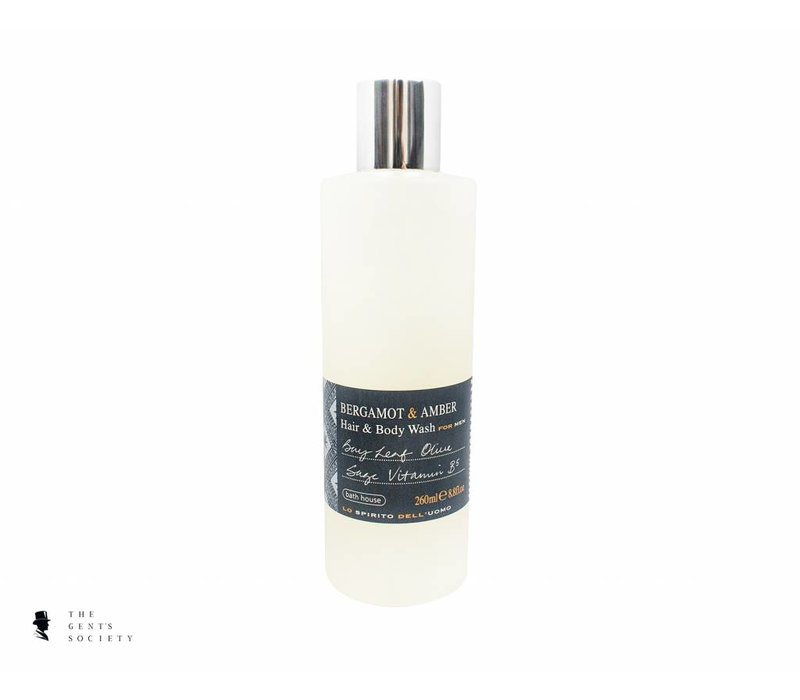 shampoo & body wash Bergamot & Amber
